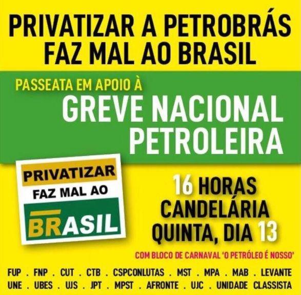 Contra privatização