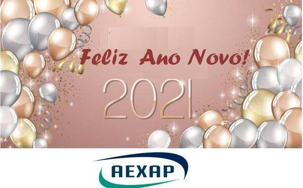 Cartaz Ano Novo 2021